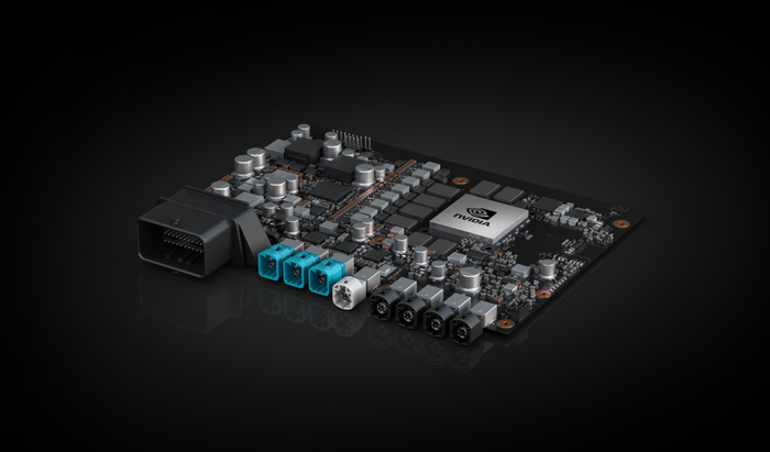 NVIDIA XAVIER self-driving vehicle system-on-a-chip