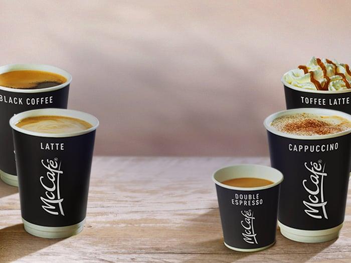 McDonald's McCafe line of coffees