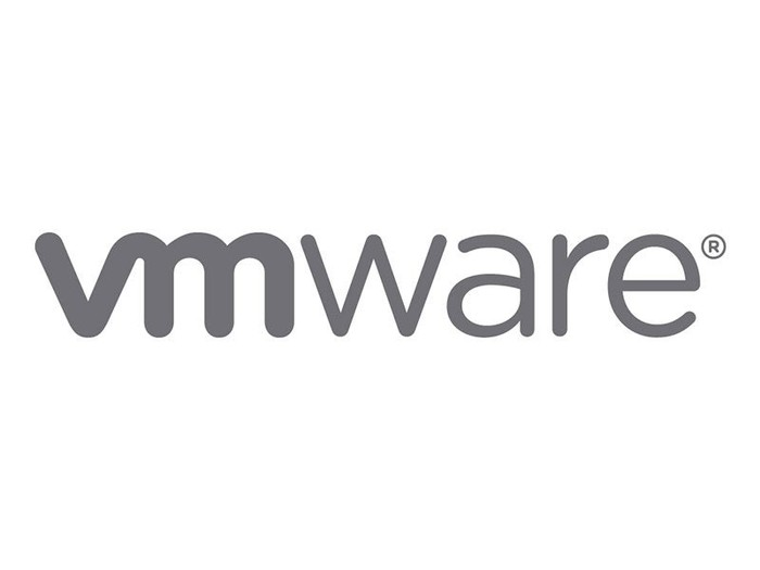 The VMware logo.