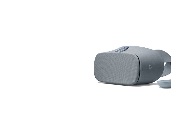 The Google Daydream VR headset.