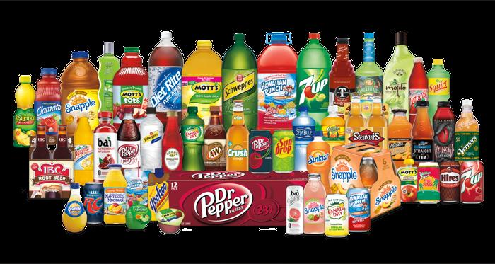 Dr Pepper Snapple Group brands