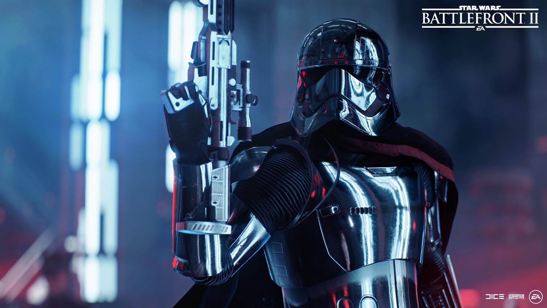 Star Wars: Battlefront 2 character Captain Phasma