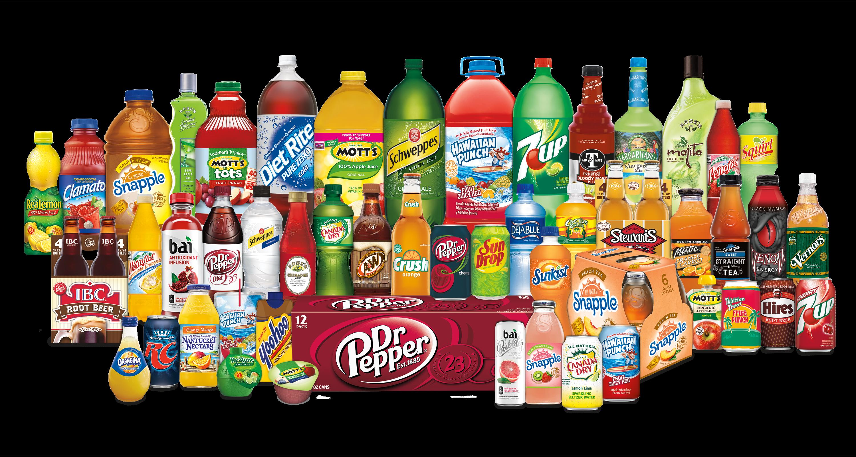 The Dr Pepper Snapple brand family