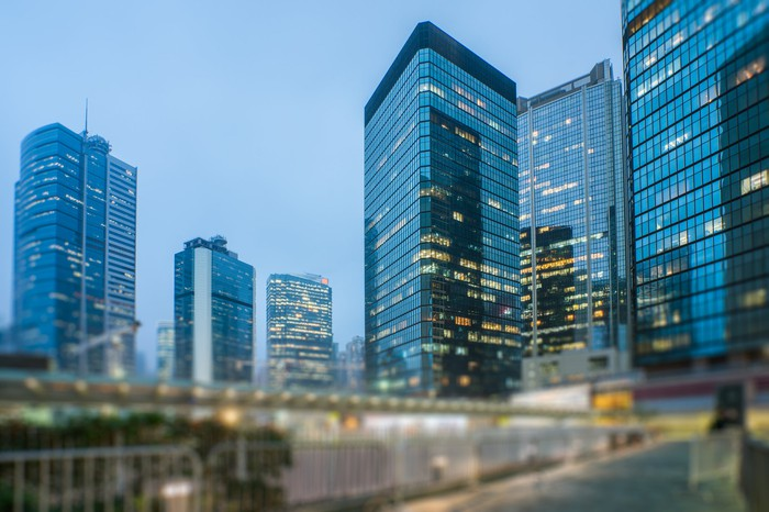 Commercial property in Hong Kong