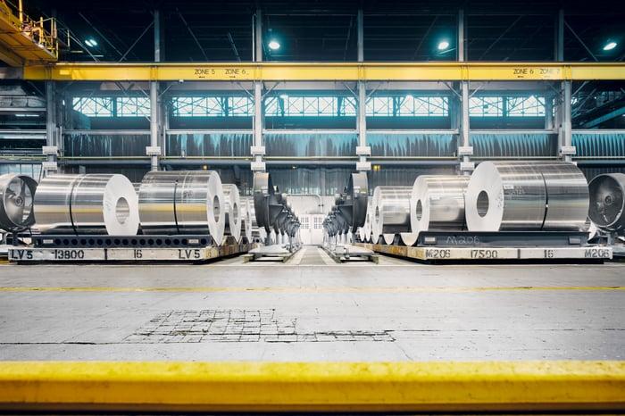 Aluminum alloy coils