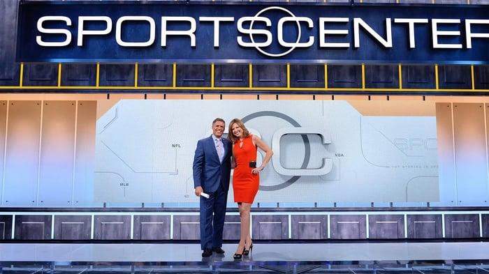 ESPN Sportscenter on the WatchESPN app.