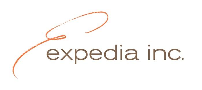 The Expedia logo.