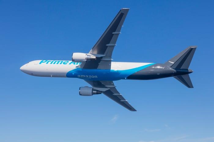 Amazon Prime Air cargo plane