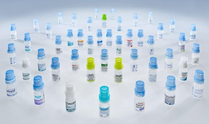Aptar pharmaceutical bottles