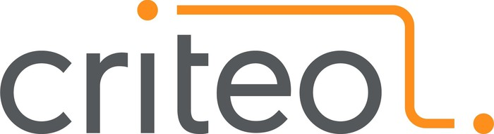 Criteo logo in grey and orange