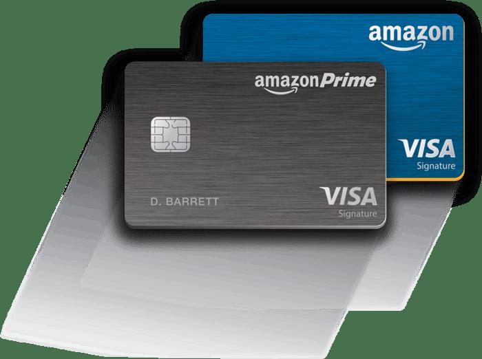 Amazon Prime Visa credit cards