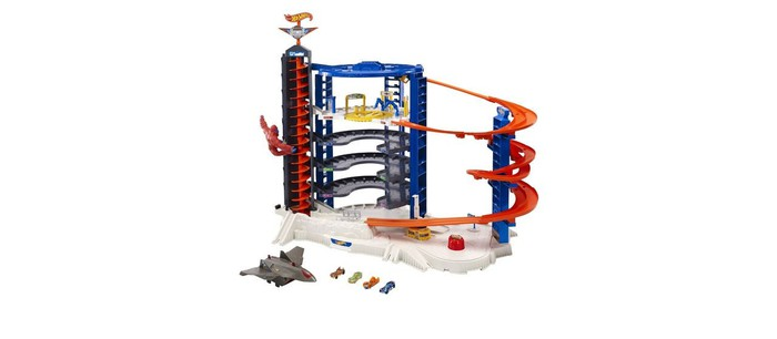 A Hot Wheels track from Mattel