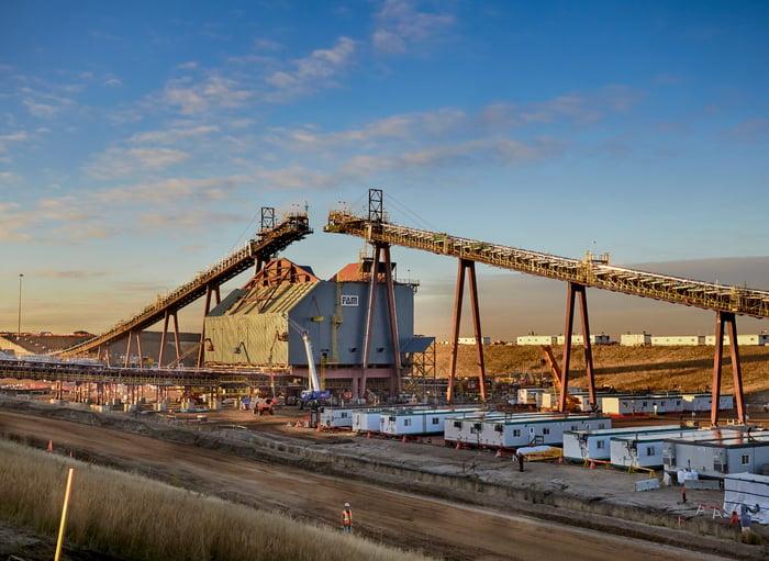 Suncor Energy Fort Hills oil sands development.