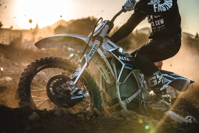Alta Motors RedShift MX electric motorcycle