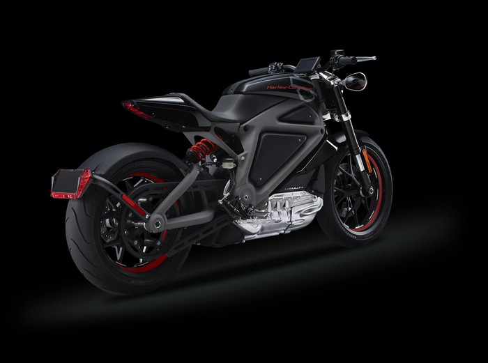 Harley-Davidson Project LiveWire electric motorcycle