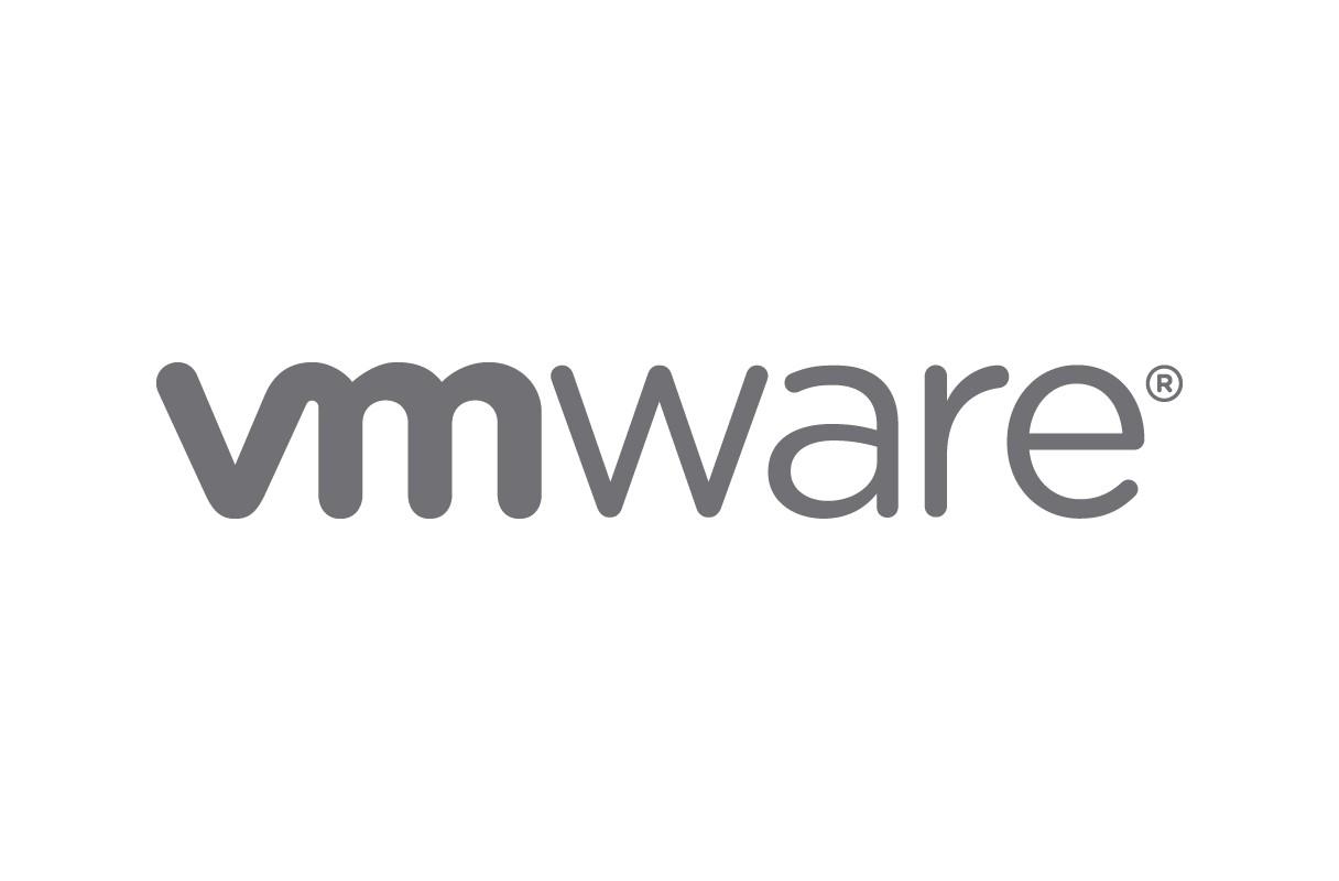 The VMware logo.