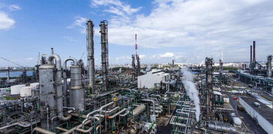 Total SA Antwerp refinery in Belgium.