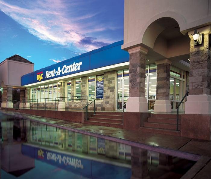 A Rent-A-Center store.