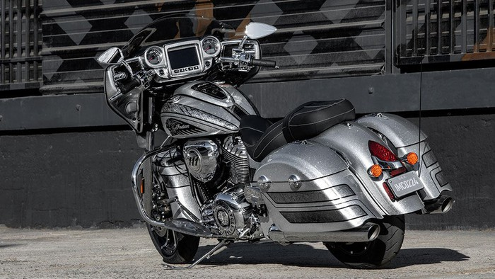 Indian Motorcycle's Limited Edition Chieftain Elite.