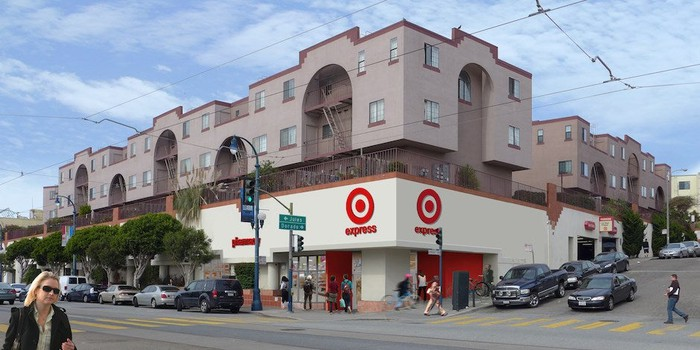 Target small-format store in San Francisco.