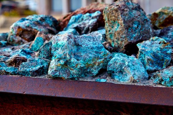 115 copper ore