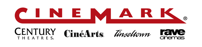 Cinemarks Corporate Logo Incorporating The Banners Of Subsidiaries Century Theatres CineArts Tinseltown