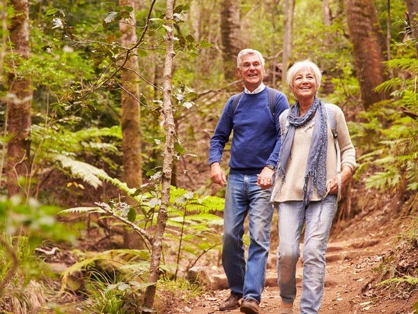 senior couple hiking_GettyImages-486894372