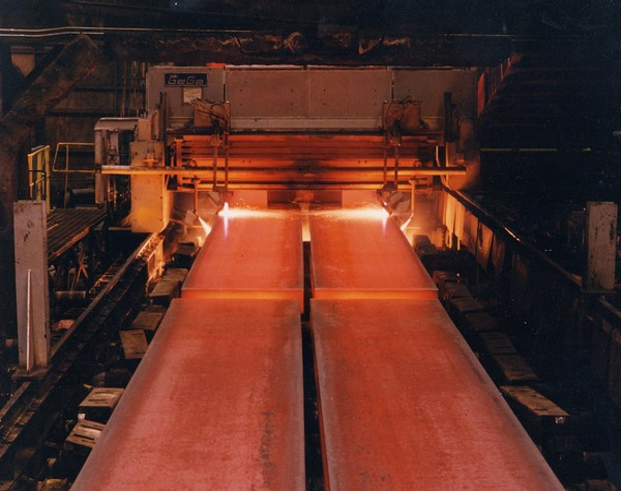 X steel coming off heat