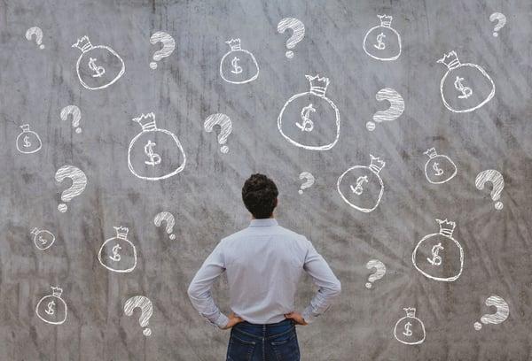 023 stock questions chalkboard