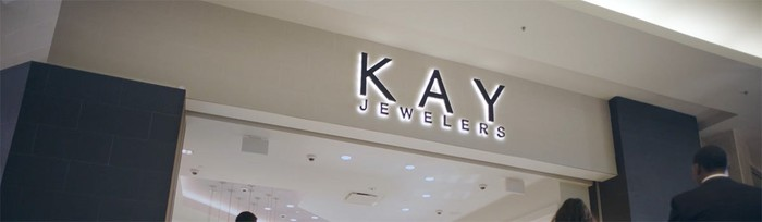 The front of a Kay Jewelers store.