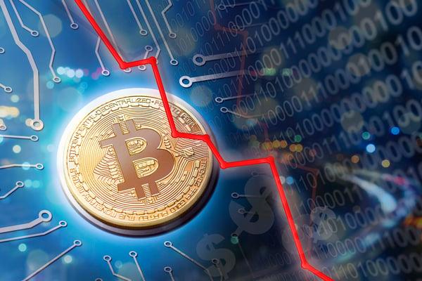 Bitcoin Plunge Crash Cryptocurrency Ethereum Ripple Blockchain Getty