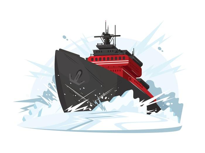 Icebreaker art