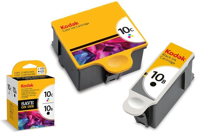 Kodak ink cartridges.