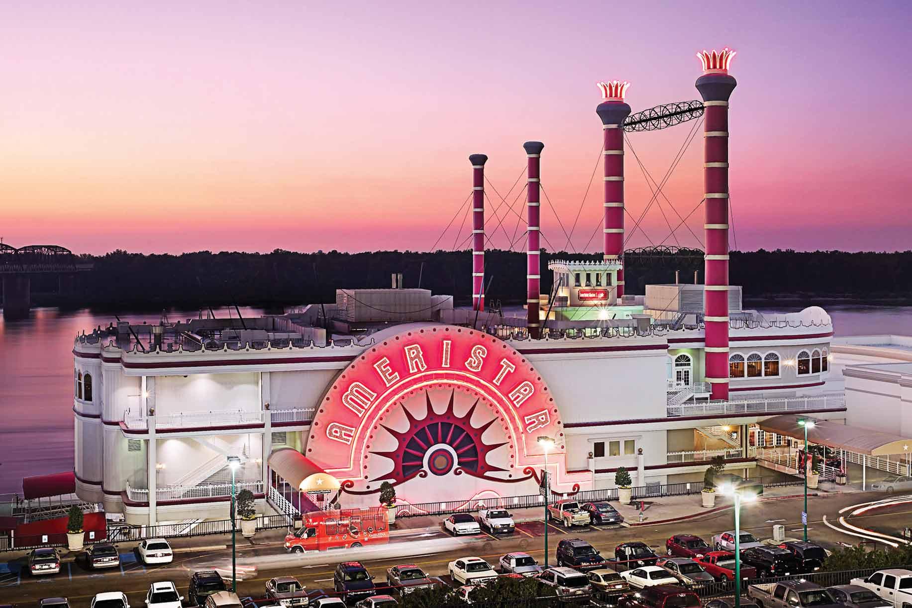 Pinnacle Entertainment's Ameristar Casino Vicksburg riverboat casino