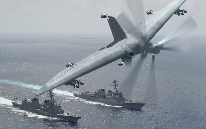 Artist's conception of prototype TERN drone