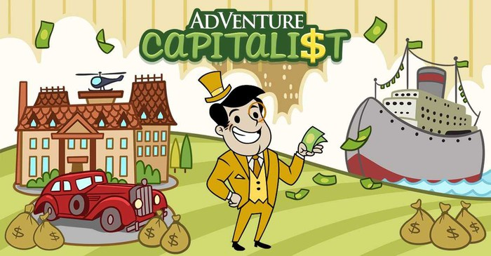 A screen capture from Adventure Capitalist.