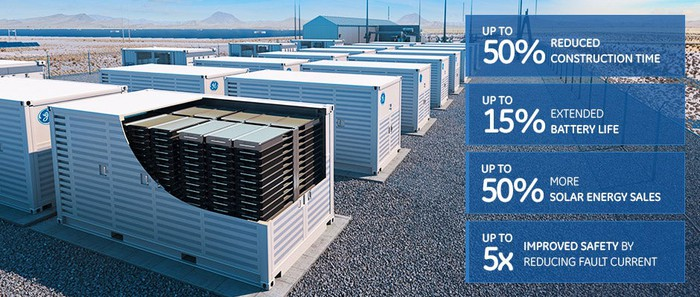 GE's modular energy storage solution called Reservoir.