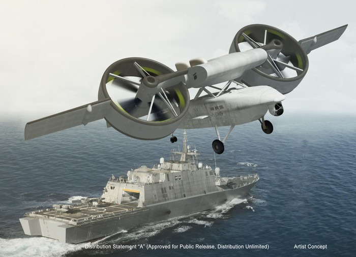 ARES drone rendering