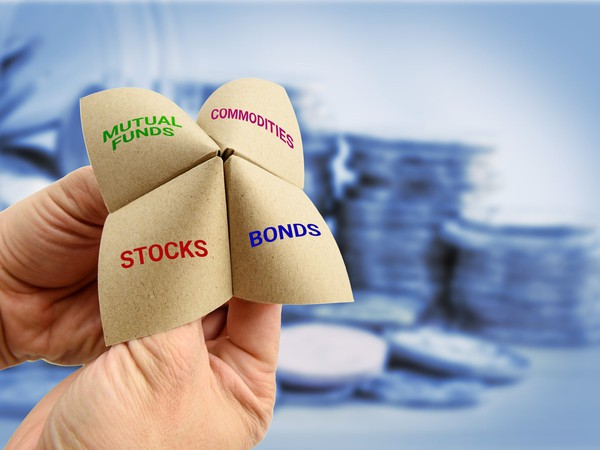 asset allocation portfolio mix stocks bonds retirement mutual funds commodities