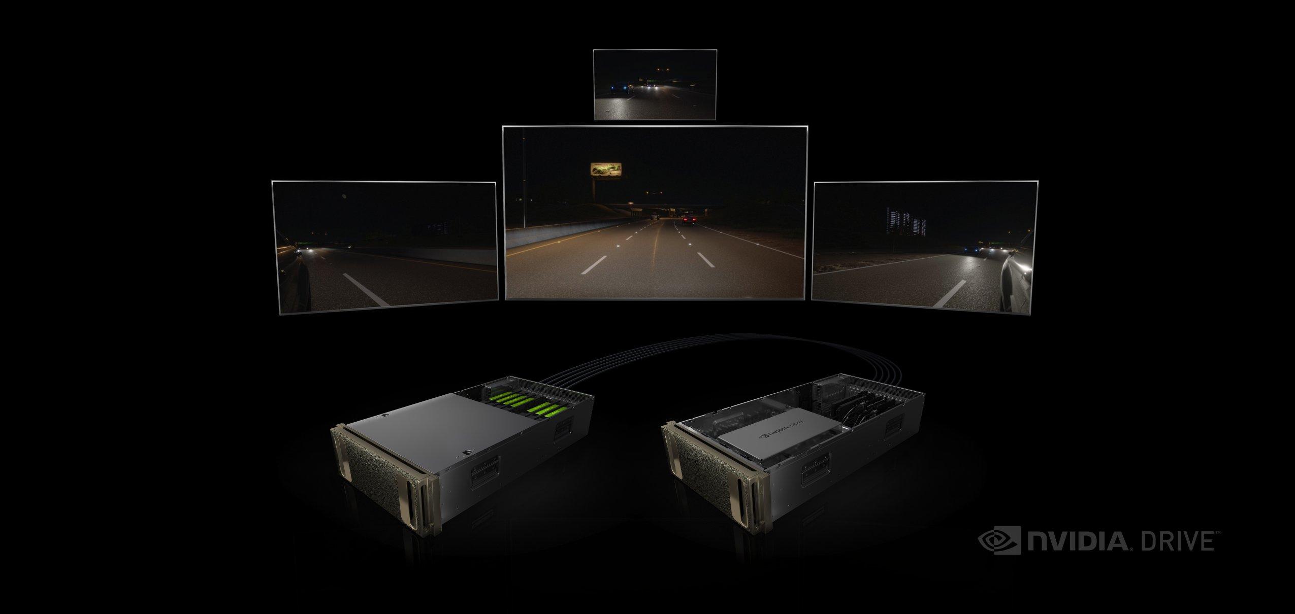 The Drive PX platform.