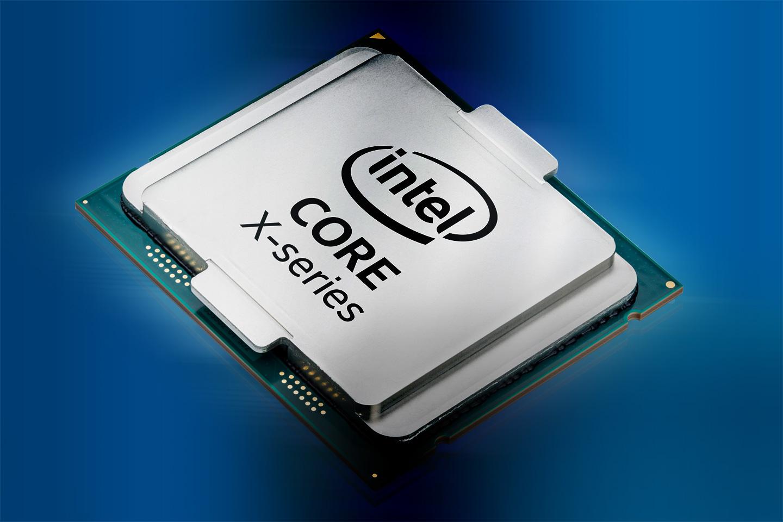 An Intel Core X chip