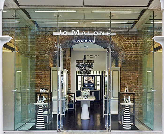 A Jo Malone storefront