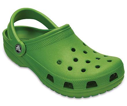 The classic Crocs clog