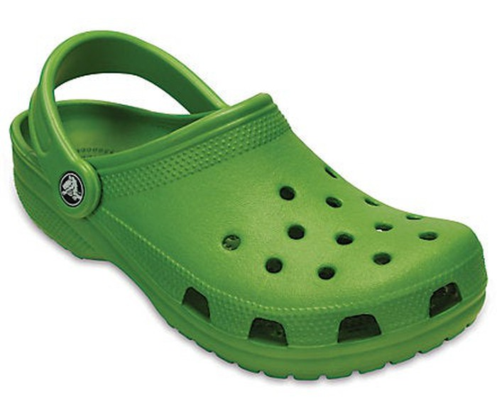 The classic Crocs clog