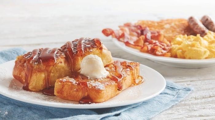 "New ""Kings Hawaiian French Toast"" breakfast combo."