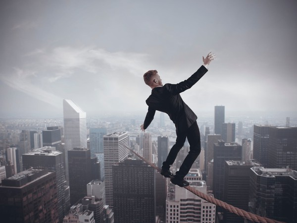 Business Risk High Wire