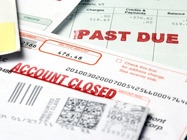 debt past due notice