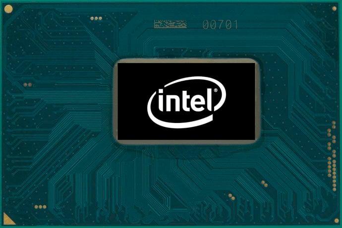 An Intel chip.