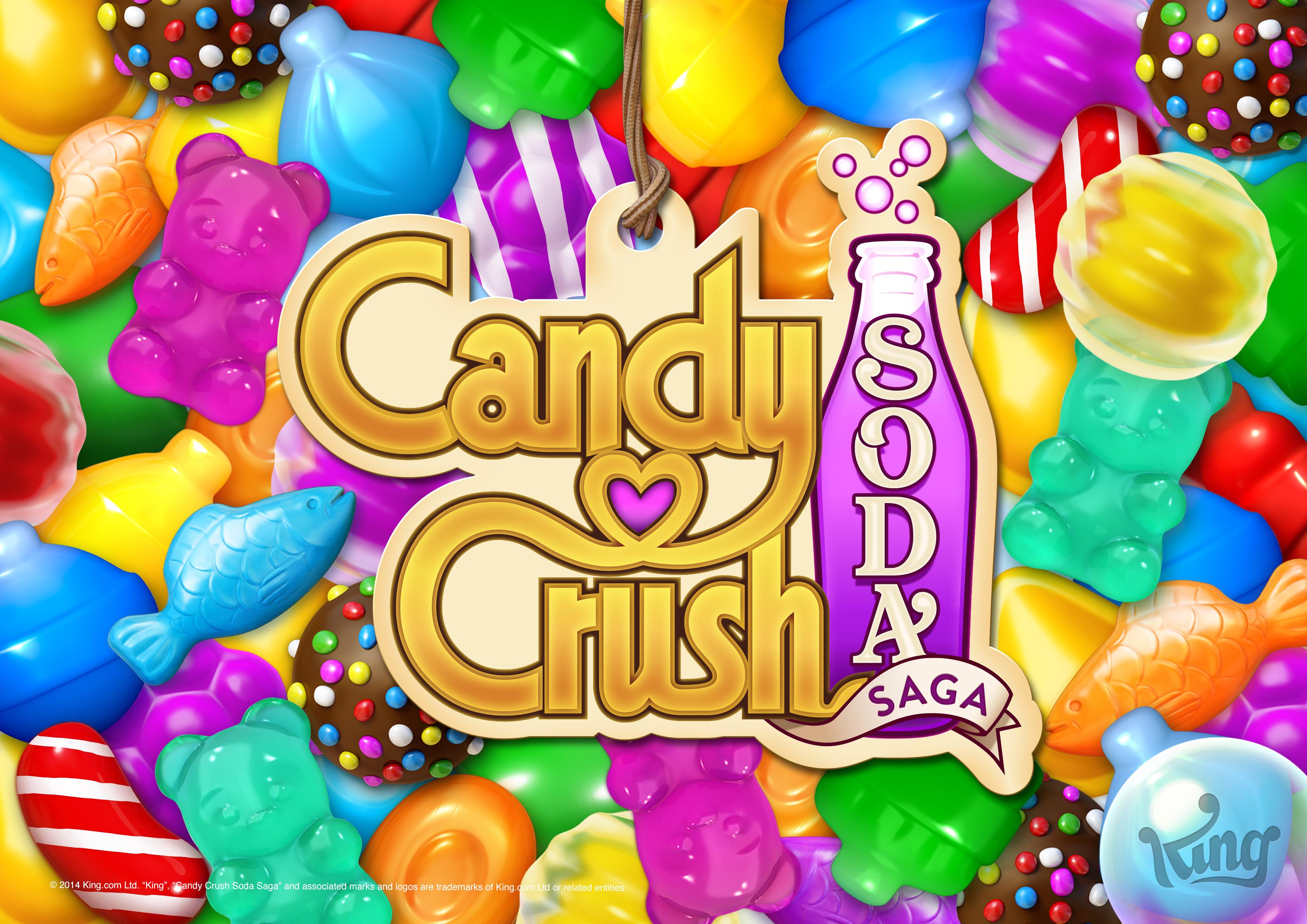 Candy Crush Soda Saga mobile game logo