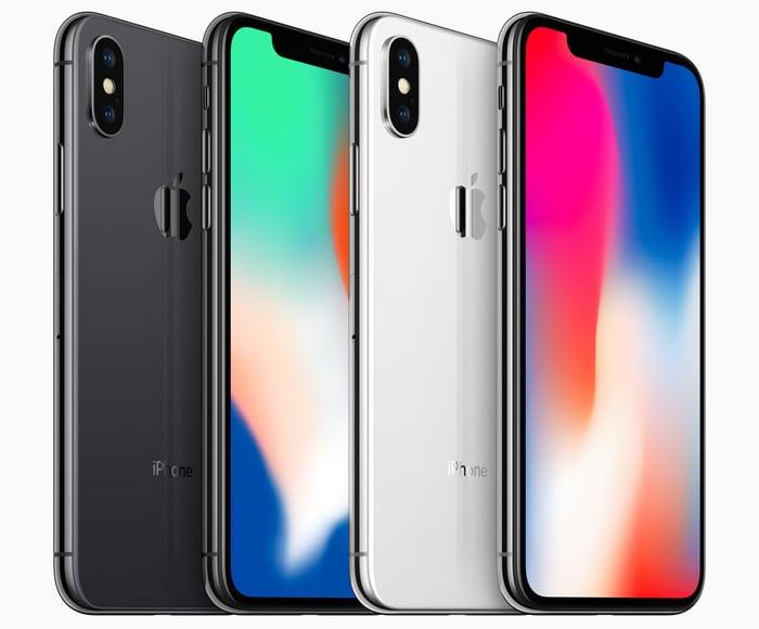 Four iPhones